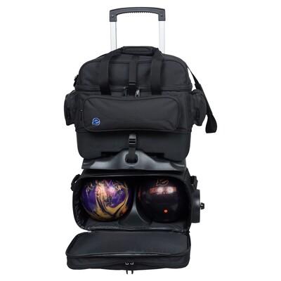 Ebonite Transport 4 Ball Roller Bowling Bag