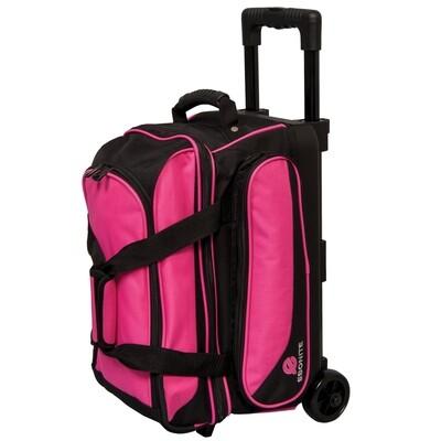Ebonite Transport Pink 2 Ball Roller Bowling Bag