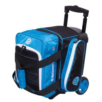 Ebonite Eclipse Blue Single Roller Bowling Bag