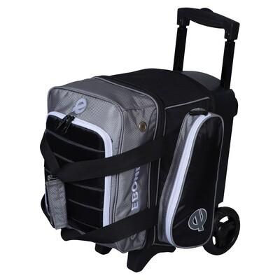 Ebonite Eclipse Silver Single Roller Bowling Bag
