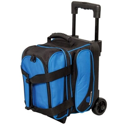 Ebonite Transport Blue Single Roller Bowling Bag