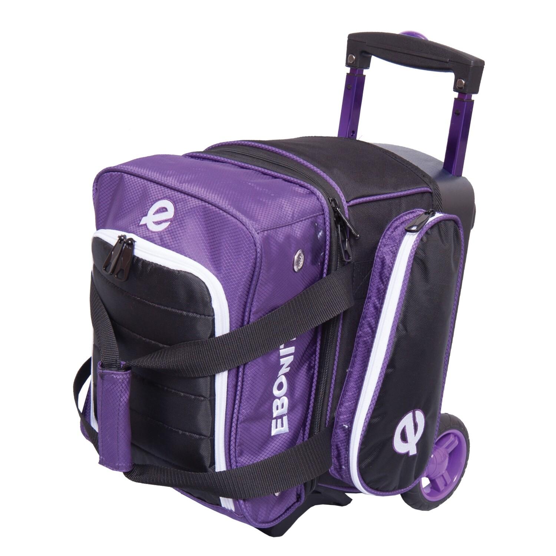 Ebonite Eclipse Purple Single Roller Bowling Bag