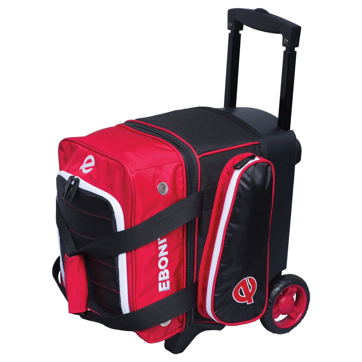 Ebonite Eclipse Red Single Roller Bowling Bag