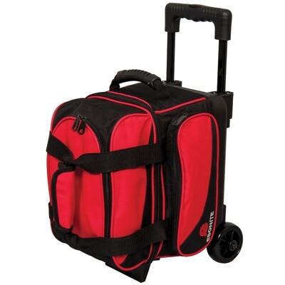 Ebonite Transport Red Single Roller Bowling Bag