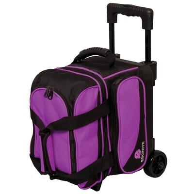 Ebonite Transport Purple Single Roller Bowling Bag