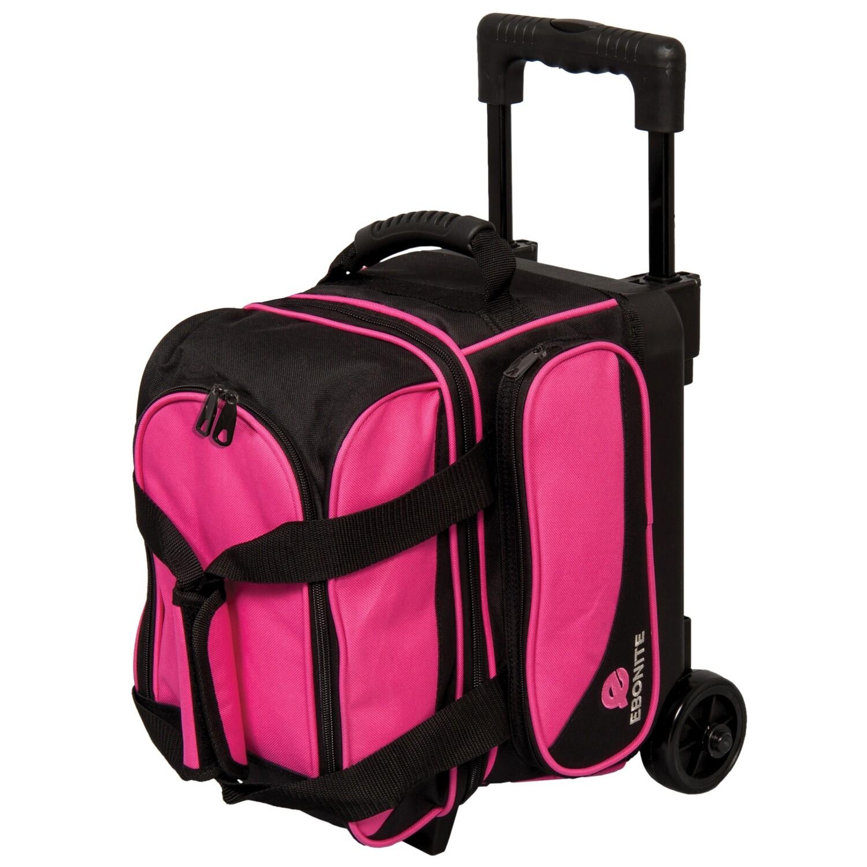 Ebonite Transport Pink Single Roller Bowling Bag