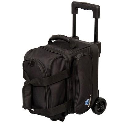 Ebonite Transport Black Single Roller Bowling Bag