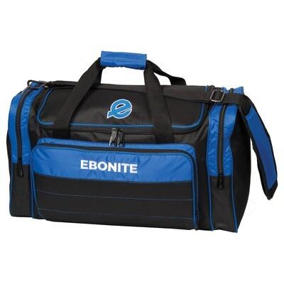 Ebonite Conquest Black/Blue 2 Ball Bowling Bag