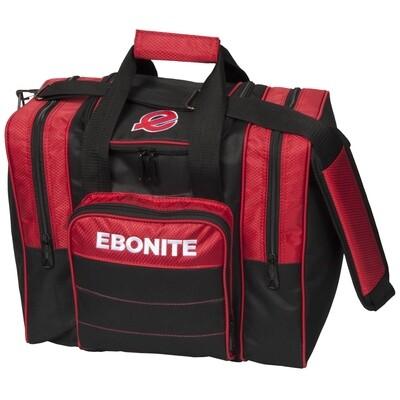 Ebonite Impact Plus Red/Black 1 Ball Bowling Bag
