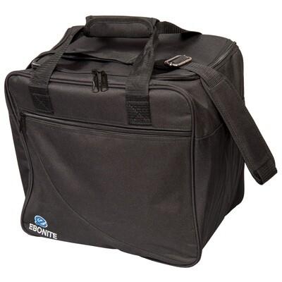 Ebonite Basic Single Black 1 Ball Bowling Bag