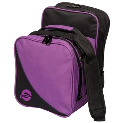 Ebonite Compact Single Purple 1 Ball Bowling Bag