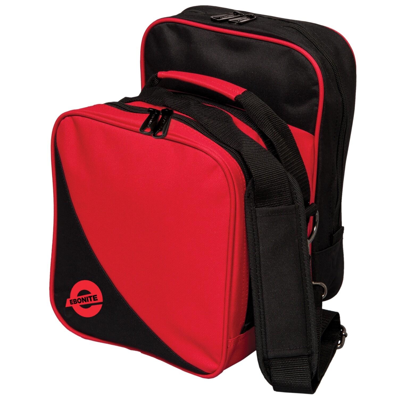 Ebonite Compact Single Red 1 Ball Bowling Bag