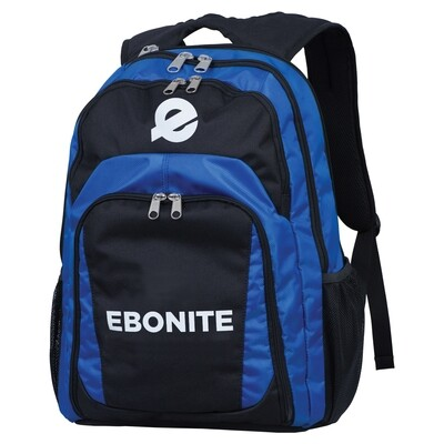 Ebonite Backpack Black/Royal