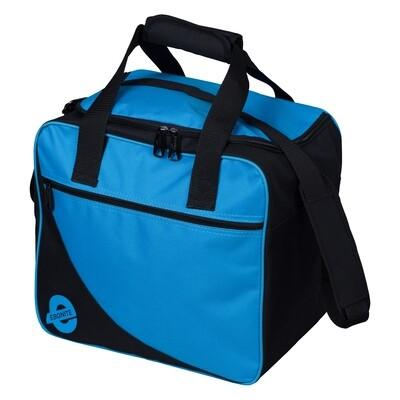 Ebonite Basic Single Aqua/Black 1 Ball Bowling Bag
