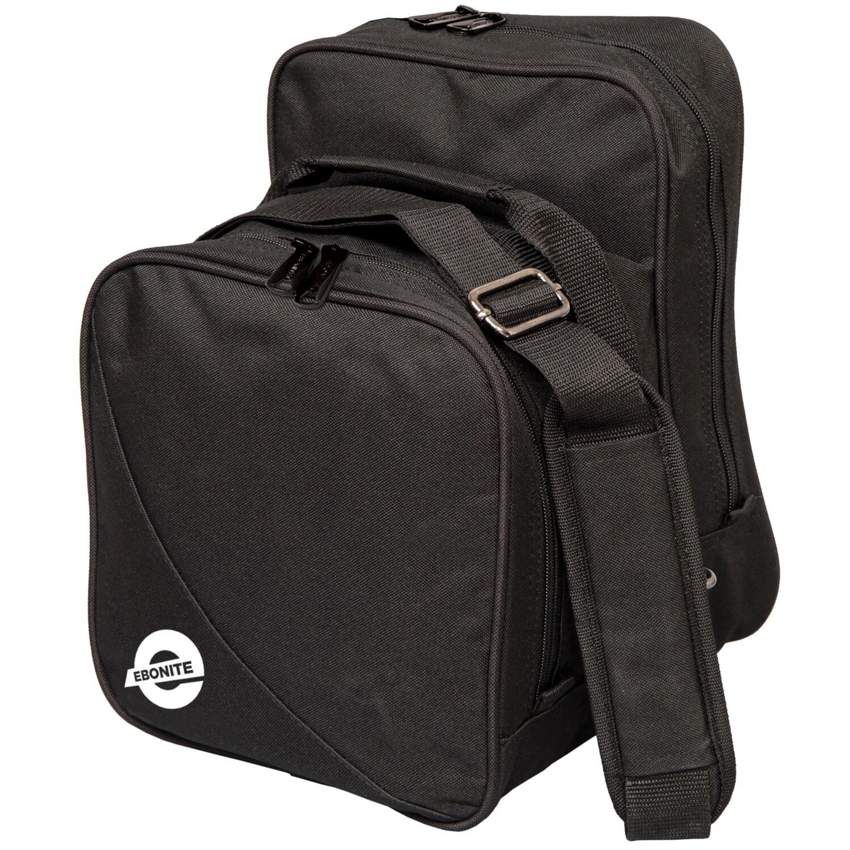 Ebonite Compact Single Black 1 Ball Bowling Bag