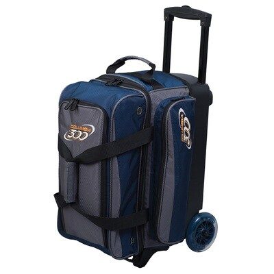 Columbia Icon Navy/Charcoal 2 Ball Roller Bowling Bag