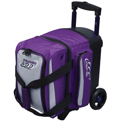 Columbia Icon Purple/Silver 1 Ball Roller Bowling Bag