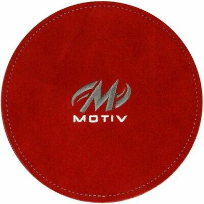 Motiv Disk Bowling Shammy Red