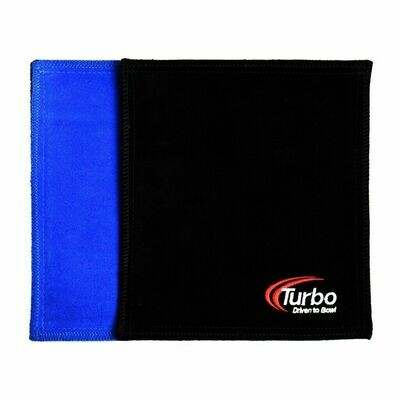 Turbo Blue/Black Dry Towel Bowling Shammy