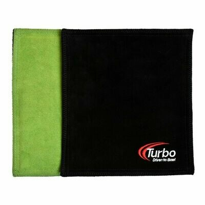 Turbo Green/Black Dry Towel Bowling Shammy