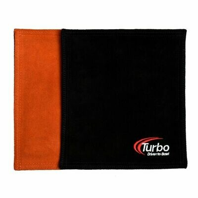 Turbo Orange/Black Dry Towel Bowling Shammy