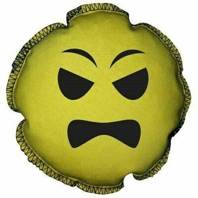 Storm Emoji Scented Grip Sack Angry Face