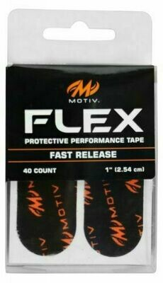 Motiv Flex Black Fast Release Skin Protection Tape Pack