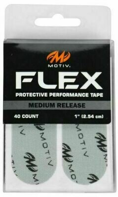 Motiv Flex Grey Medium Release Skin Protection Tape Pack