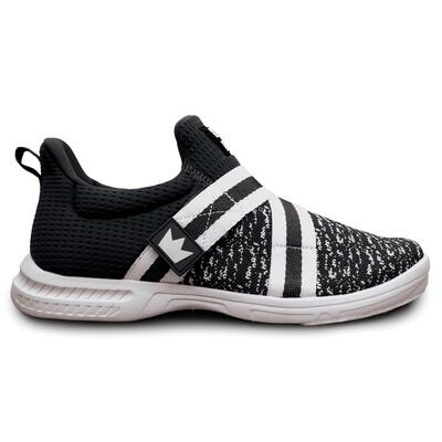 Brunswick Slingshot Black/White Mens Bowling Shoes