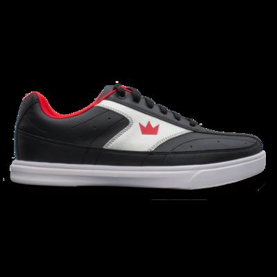 Brunswick Renegade Black/Red Mens Bowling Shoes