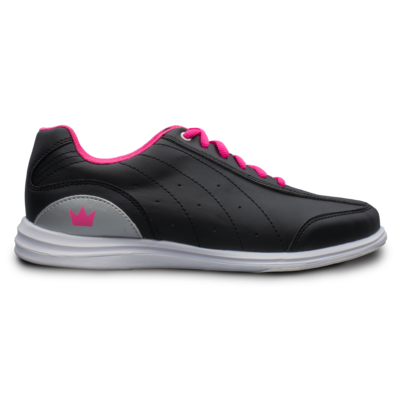 Brunswick Mystic Black/Pink Womens Bowling Shoes