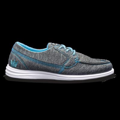 Brunswick Karma Grey/Blue Bowling Shoes