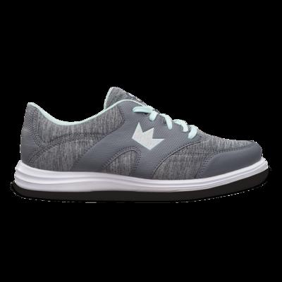 Brunswick Karma Sport Grey/Mint Womens Bowling Shoes