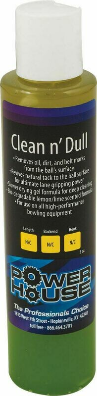 Powerhouse Clean n' Dull Bowling Ball Cleaner 5oz