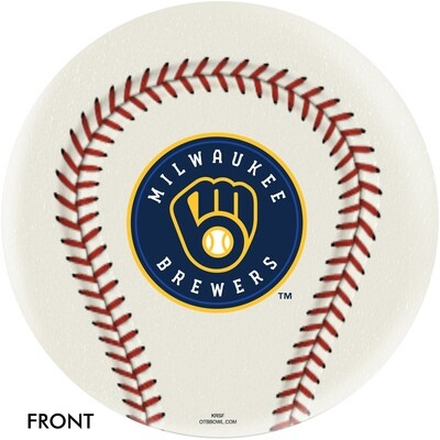 MLB Milwaukee Brewers Bowling Ball