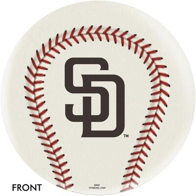 MLB San Diego Padres Bowling Ball