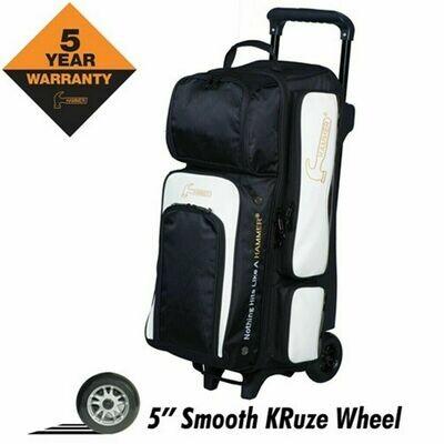 Hammer Vibe 3 Ball Roller Black/White Bowling Bag