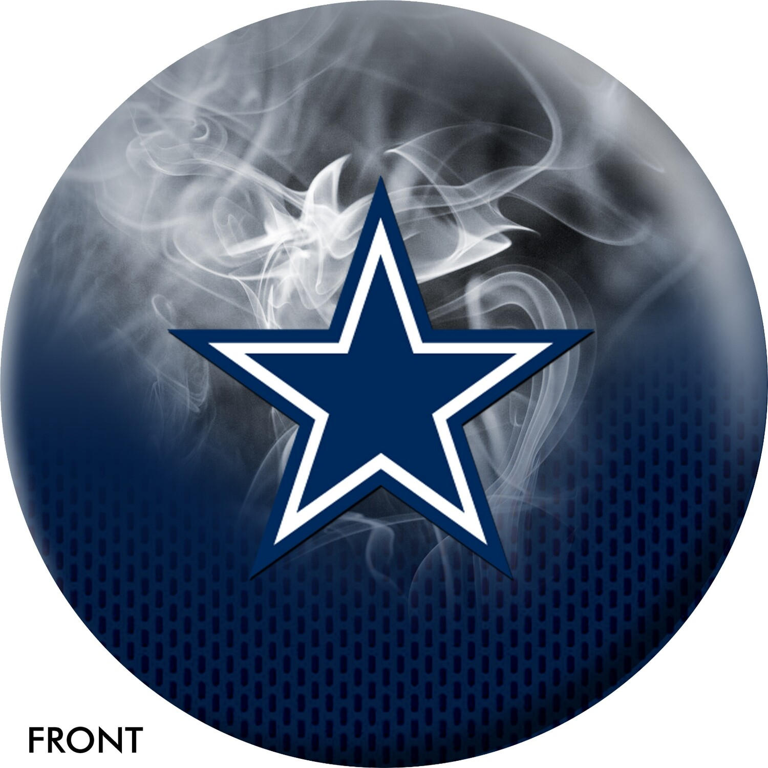 NFL On Fire Dallas Cowboys Bowling Ball