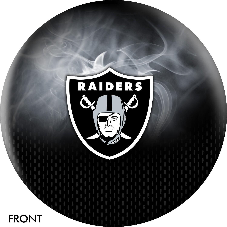 NFL On Fire Las Vegas Raiders Bowling Ball