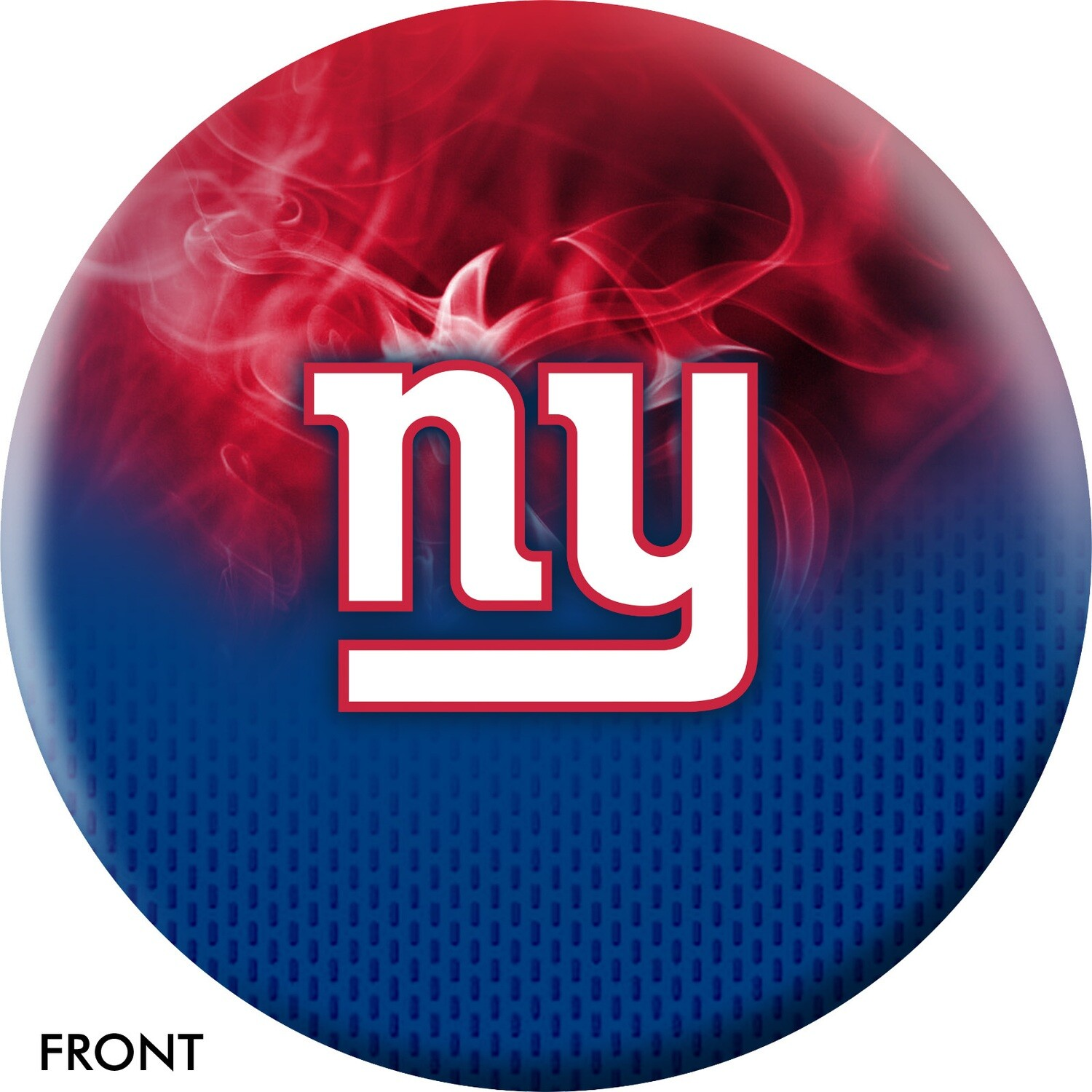 NFL On Fire New York Giants Bowling Ball