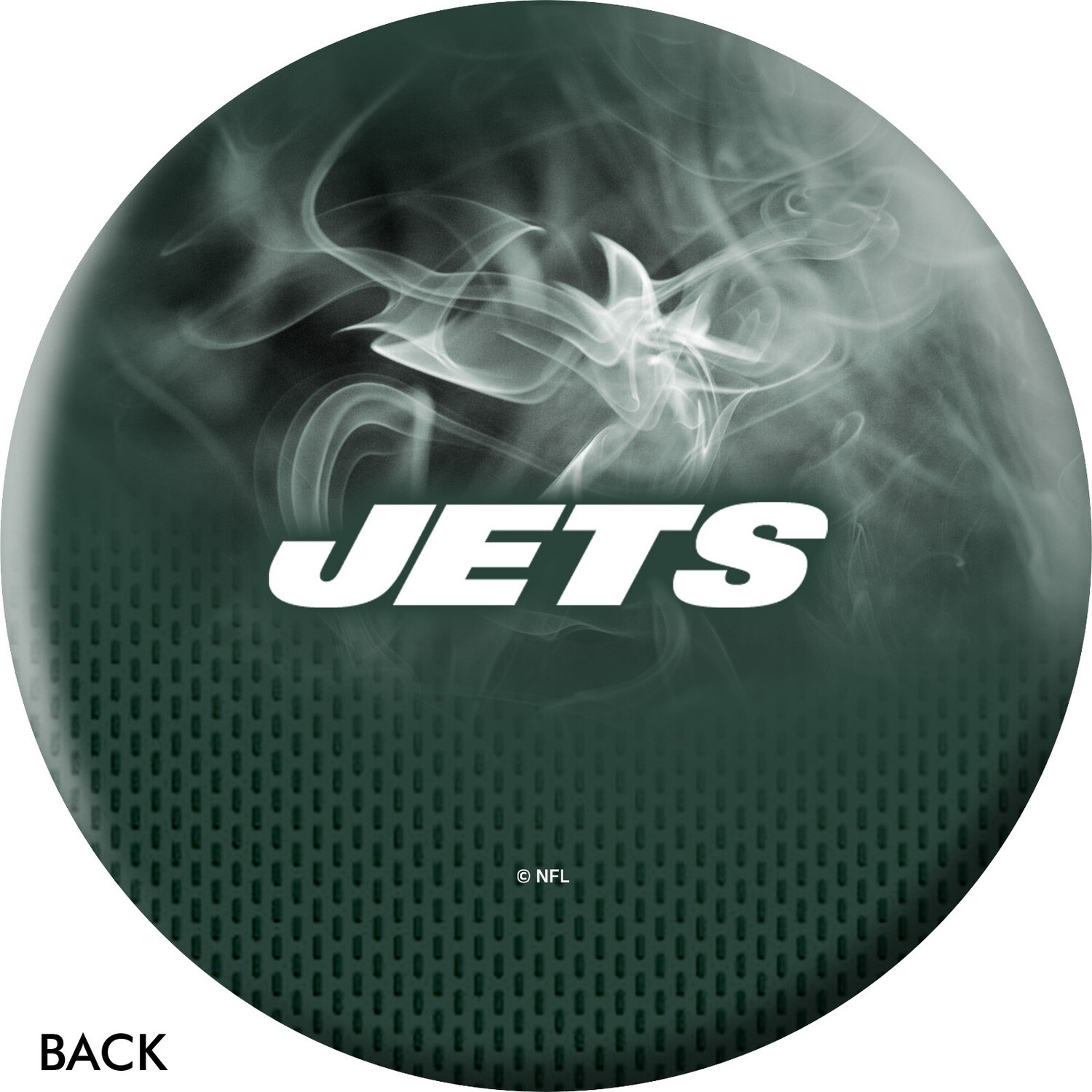 NFL On Fire New York Jets Bowling Ball