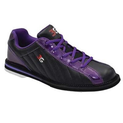 3G Kicks Black/Purple Womens Bowling Shoes