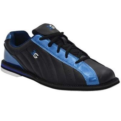 3G Kicks Black/Blue Womens Bowling Shoes