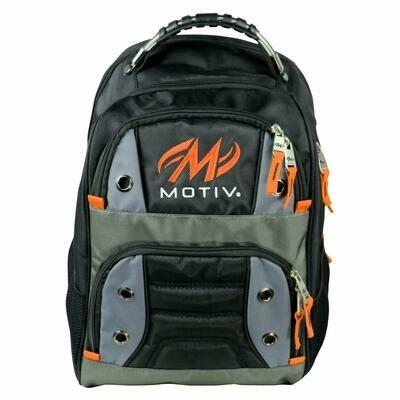Motiv Intrepid Black/Orange Backpack