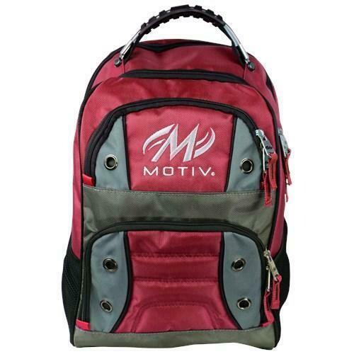 Motiv Intrepid Red Backpack