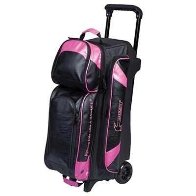 Hammer Premium 3 Ball Roller Black/Pink Bowling Bag