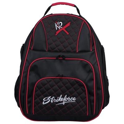 KR Strikeforce Royal Flush Deuce 2 Ball Tote Back Pack Bowling Bag