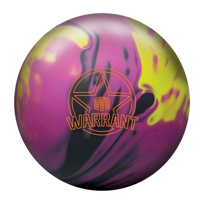 DV8 Warrant Solid Bowling Ball
