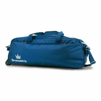 Brunswick Combat Blue 3 Ball Tote Bowling Bag