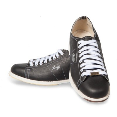 Linds Classic Black Mens Right Handed Bowling Shoes